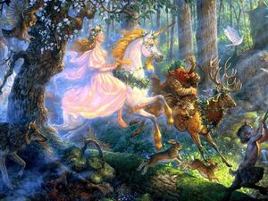 Олень волшебный — житель снов и сказок. Ярмарка Мастеров - ручная работа, handmade.