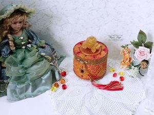 Шкатулка для принцессы — видео и фото. Ярмарка Мастеров - ручная работа, handmade.