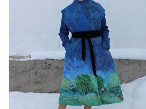 Новое пальто , весеннее! без рукавов!!! | Ярмарка Мастеров - ручная работа, handmade