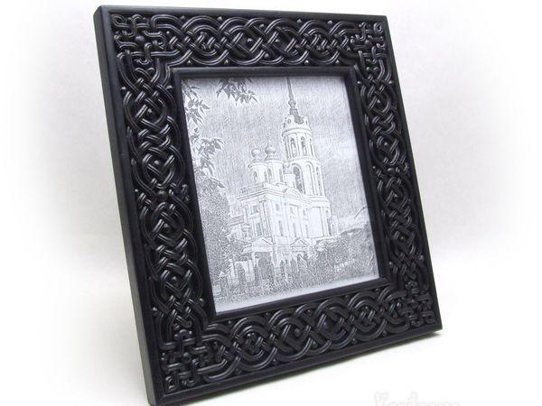 Рамочка из черного граба в процессе работы. Маленький фотоотчет | Ярмарка Мастеров - ручная работа, handmade