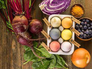 Натуральные красители для декора пасхальных яиц | Ярмарка Мастеров - ручная работа, handmade