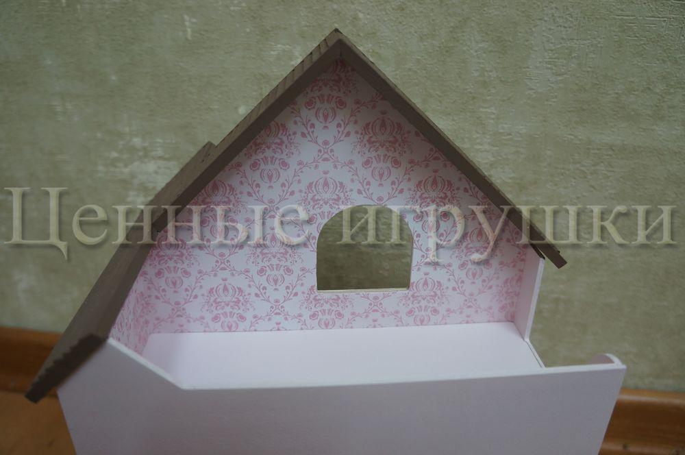 Мастер класс по сборке и оформлению кроватки домика., фото № 22