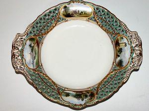 В продаже! Шикарное блюдо на ножке, произведено в Англии, на Королевской мануфактуре «Copeland», в период 1850 — 1890 гг. Ярмарка Мастеров - ручная работа, handmade.