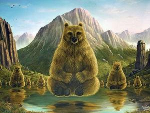Умиротворяющее царство животных в иллюстрациях пяти художников. Ярмарка Мастеров - ручная работа, handmade.