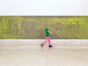 Открыта выставка «Буги-Вуги» китайского художника, вдохновленного городом и технологиями. Ярмарка Мастеров - ручная работа, handmade.
