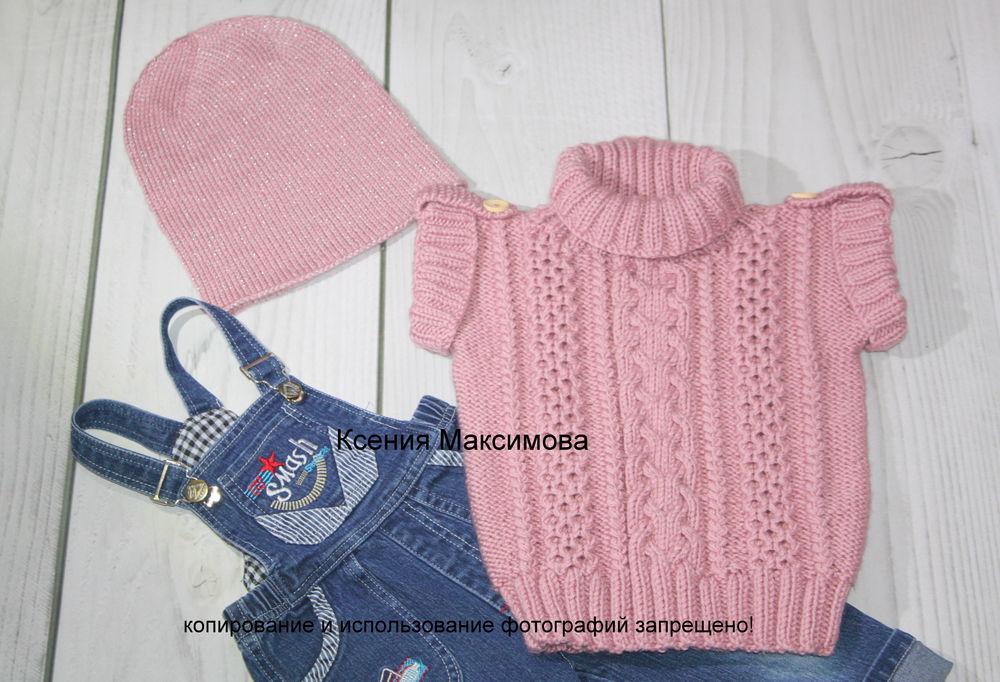жилет, одежда для девочки