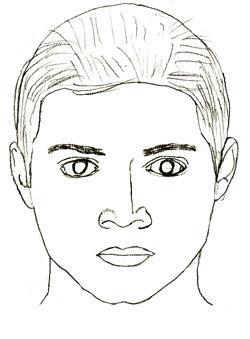 Как нарисовать портрет, шаг 5