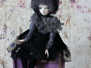 """Новая кукла из серии """" Углеродики"""". Ярмарка Мастеров - ручная работа, handmade."""