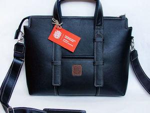 ПРОДАНО! Готовая мужская сумка Урбан со скидкой срочно ищет хозяина!. Ярмарка Мастеров - ручная работа, handmade.