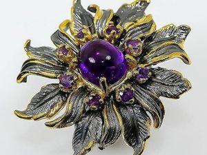 Распродажа авторских серебряных украшений к 8 марта. Ярмарка Мастеров - ручная работа, handmade.