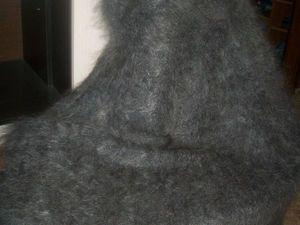 Шикарная пуховая оренбургская шаль. Ярмарка Мастеров - ручная работа, handmade.