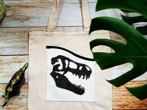 Как сделать эксклюзивную эко-сумку с наименьшими затратами?. Ярмарка Мастеров - ручная работа, handmade.