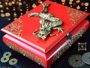 Дракон — талисман Богатства и Процветания по фен шуй. Ярмарка Мастеров - ручная работа, handmade.