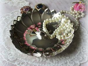 Дополнительные фото тарелочки для дамского столика. Ярмарка Мастеров - ручная работа, handmade.