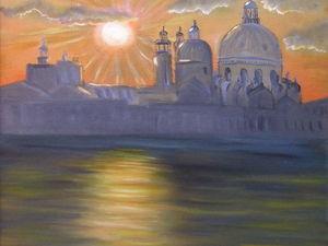 Рассвет в Венеции. Ярмарка Мастеров - ручная работа, handmade.
