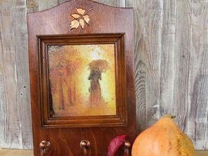 """Создаем ключницу """"Осенний вальс"""". Ярмарка Мастеров - ручная работа, handmade."""