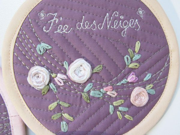 Маленький кошелек с вышивкой розы | Ярмарка Мастеров - ручная работа, handmade
