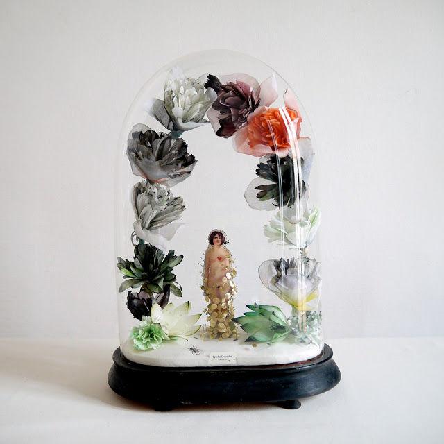 Интригующие скульптуры из текстиля от Линди Доурти (Lyndie Dourthe)