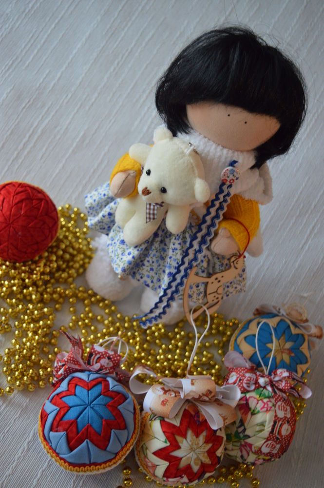 новый год, кукла ручной работы, акции и распродажи