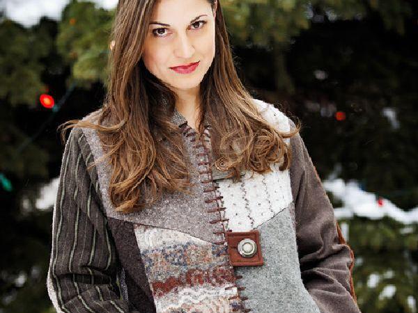 Переделка со вкусом, или Как дать винтажному свитеру вторую жизнь | Ярмарка Мастеров - ручная работа, handmade