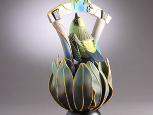 Clay Artworks: Whimsical Bird Teapots by Annette Corcoran. Livemaster - handmade
