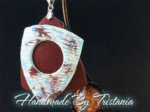 Видеоурок: лепим кулон «Нежность» из полимерной глины. Ярмарка Мастеров - ручная работа, handmade.