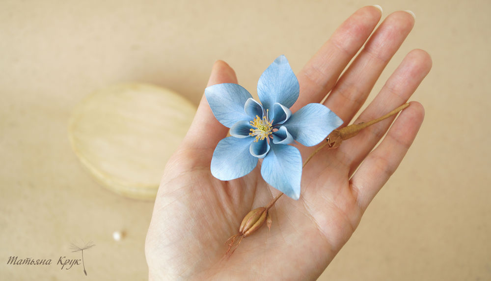 брошь цветок, цветочное украшение