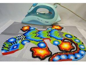 Создаем ящерицу из термомозаики в технике алмазной вышивки. Часть 1. Ярмарка Мастеров - ручная работа, handmade.