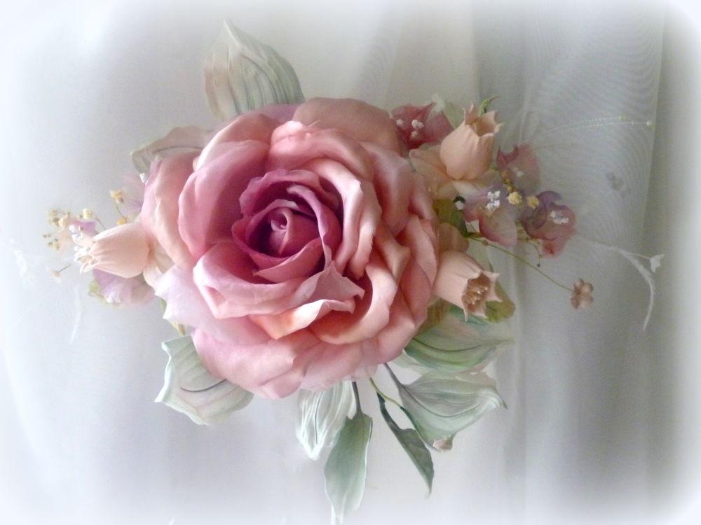 флористика, цветы из шелка, декор интерьера, украшение для штор, подхват, мастер-класс, мк в москве