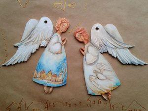 Ангелы Ноября,Вашим идеям благодаря!. Ярмарка Мастеров - ручная работа, handmade.