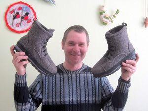 Фото отчет по валянию зимних ботинок!. Ярмарка Мастеров - ручная работа, handmade.