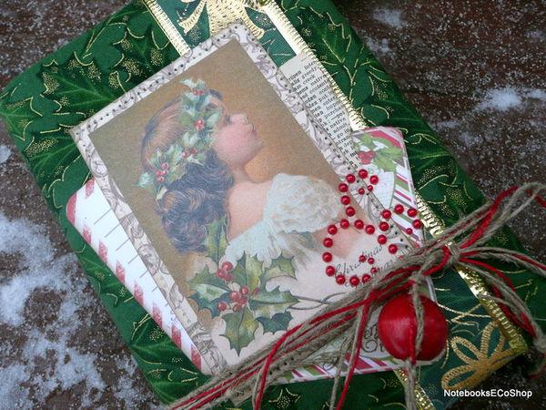 Новый Рождественский дневничок   Ярмарка Мастеров - ручная работа, handmade