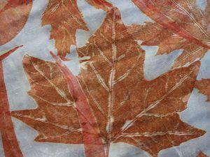 Готовь листья летом!. Ярмарка Мастеров - ручная работа, handmade.