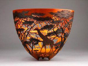 Stunning Lace Vases by Gordon Pembridge. Livemaster - handmade