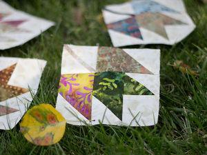 Учимся делать блок «Кленовый лист». Ярмарка Мастеров - ручная работа, handmade.