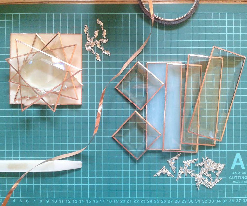 процесс, стекло