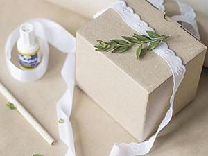How to Make an Eco-Friendly Gift Packaging. Livemaster - handmade