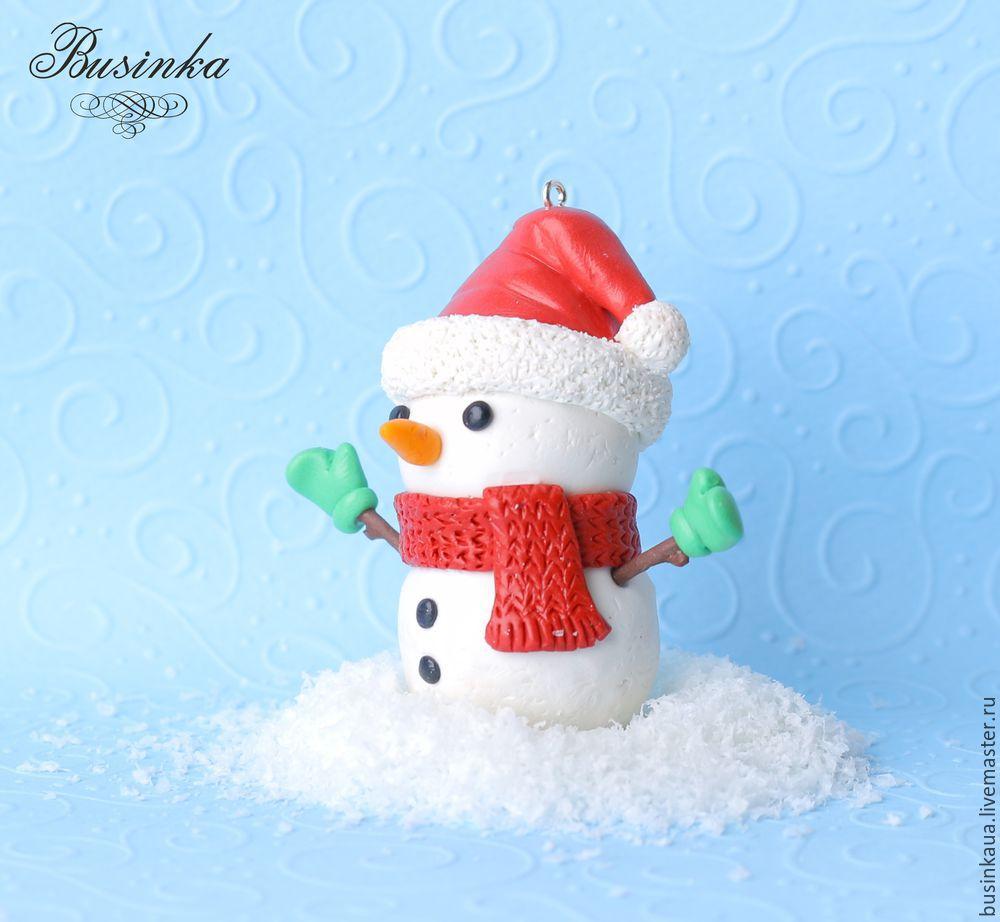 как слепить снеговика, снеговика из глины, делаем новгоднюю игрушку, игрушка на ёлку урок, ёлочные украшения, снеговик урок, снеговик мк пластика, лепка игрушек урок, игрушка новый год урок, новый год 2017