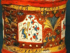 Почему народная роспись не должна быть идеальной. Ярмарка Мастеров - ручная работа, handmade.