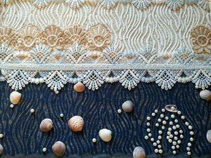 Домашний декор с кружевами | Ярмарка Мастеров - ручная работа, handmade