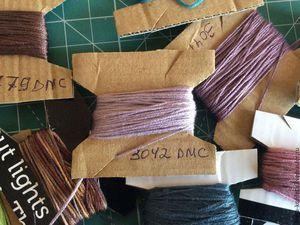 Очень простой способ хранить нитки мулине | Ярмарка Мастеров - ручная работа, handmade