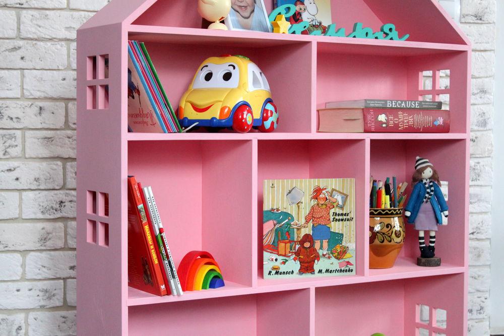 домик для кукол, розовый цвет