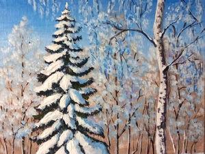 Акция! Бесплатная доставка картин до 22 ноября!. Ярмарка Мастеров - ручная работа, handmade.