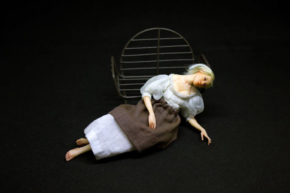 силконовая кукла