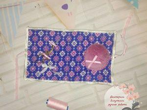 Текстильная игольница. Ярмарка Мастеров - ручная работа, handmade.