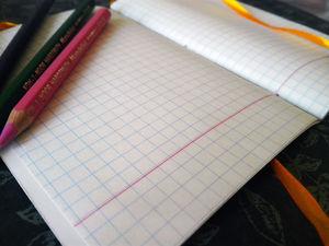 Блокнот для записей ручной работы. Kirara делает блокноты и скетчбуки!. Ярмарка Мастеров - ручная работа, handmade.