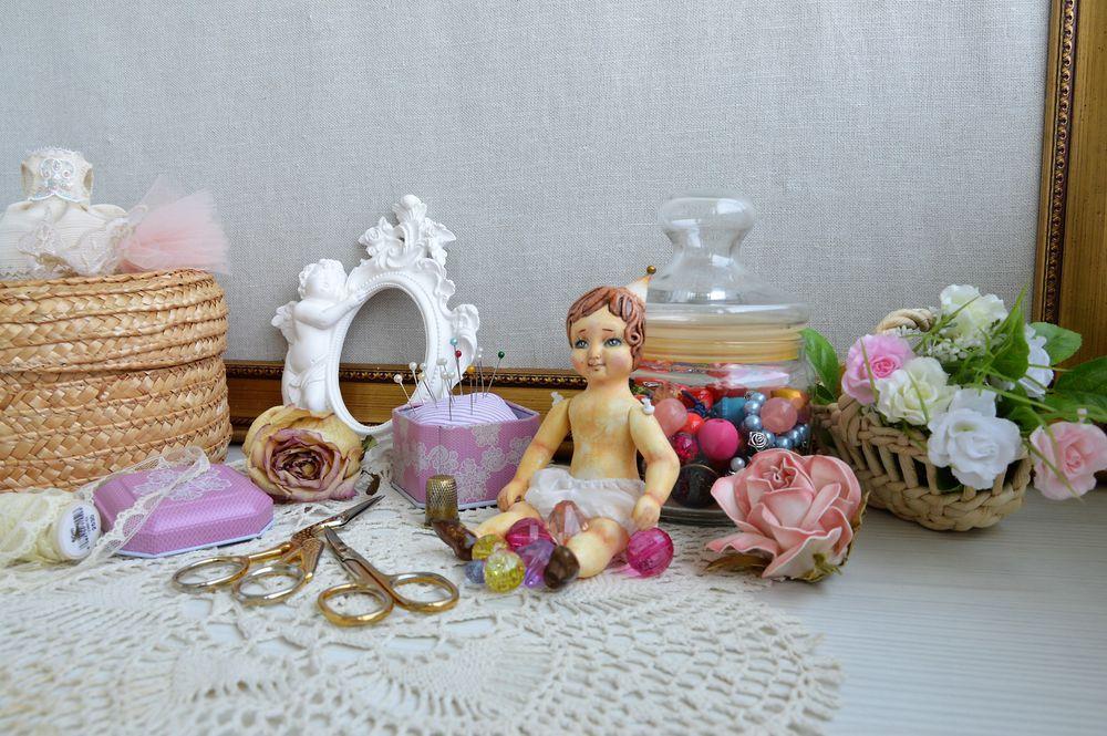 кукла болтушка, мини кукла