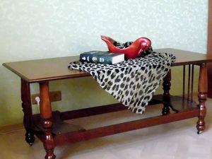 Новый стол лучше старых двух: создаем подвижный журнальный столик из частей столов 80-90-х годов. Ярмарка Мастеров - ручная работа, handmade.