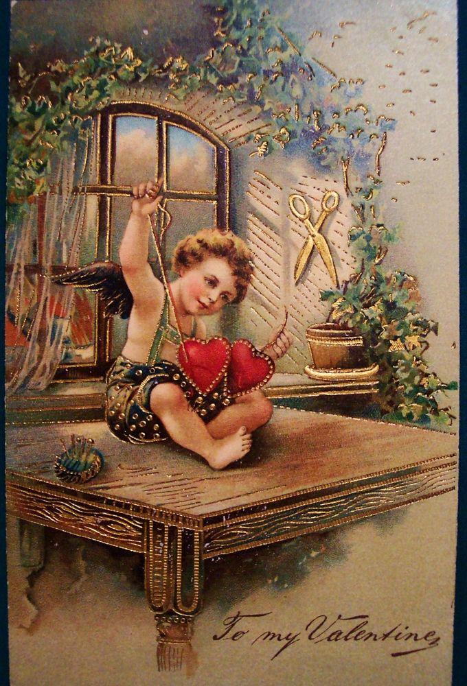 Старинные любовные открытки, своими руками день