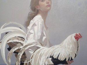 Петухи, женщины и... творчество John Neil Rodger. Ярмарка Мастеров - ручная работа, handmade.